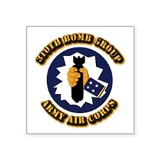 """AAC - 310th Bomb Group,12th AF Square Sticker 3"""" x"""