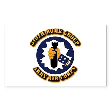 AAC - 310th Bomb Group,12th AF Sticker (Rectangle)
