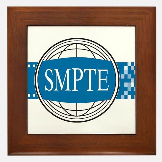 Official SMPTE Logo Framed Tile