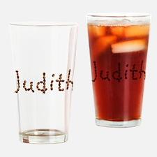Judith Coffee Beans Drinking Glass