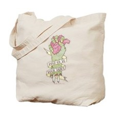 Hold On To Your Heart Tote Bag