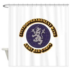 AAC - 316th Bombardment Wing Shower Curtain