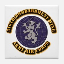 AAC - 316th Bombardment Wing Tile Coaster