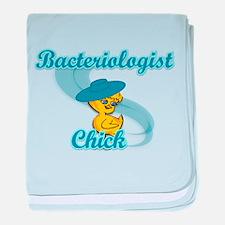 Bacteriologist Chick # baby blanket