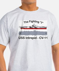 USS Intrepid CV-11 CVA-11 CVS-11 T-Shirt