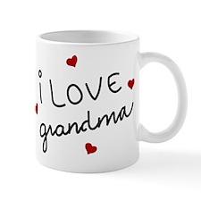 I Love Grandma Small Small Mug