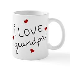I Love grandpa Small Small Mug