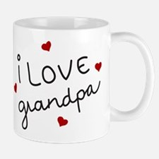 I Love grandpa Small Small Mug