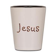 Jesus Coffee Beans Shot Glass