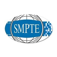 Official SMPTE Logo Wall Decal