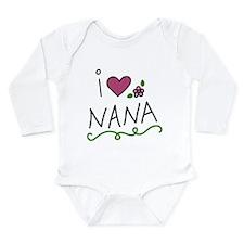 I Love Nana Baby Suit