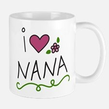 I Love Nana Small Small Mug