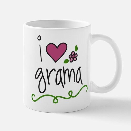 I Love Grama Mug