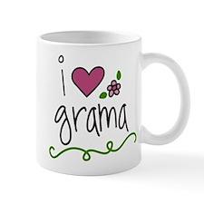 I Love Grama Small Small Mug