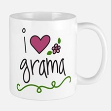 I Love Grama Small Small Mug