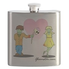 Young Zombie Love Flask