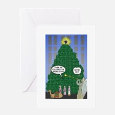 Wisemen in NY Greeting Card