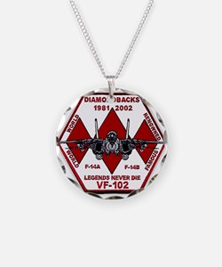 VF 102 Diamondbacks Commemorative Necklace