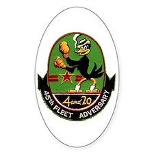 45th Fleet Adversary Squadron Decal