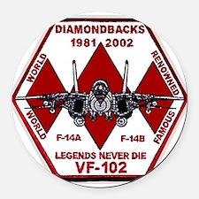 VF 102 Diamondbacks Commemorative Round Car Magnet