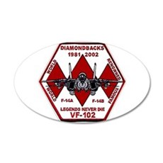 VF 102 Diamondbacks Wall Decal
