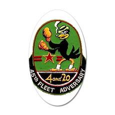 45th Fleet Adversary Squadron Wall Decal