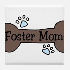 Foster Mom Tile Coaster