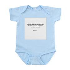 Matthew 5:9 Infant Bodysuit
