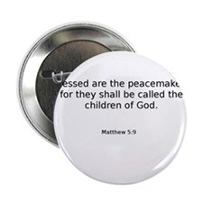 "Matthew 5:9 2.25"" Button"