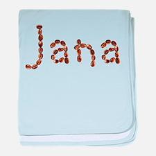 Jana Coffee Beans baby blanket