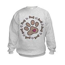 Dog Bone Circle Sweatshirt