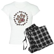 Dog Bone Circle Pajamas