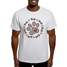 Dog Bone Circle T-Shirt