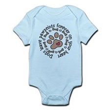 Pawprints Infant Bodysuit