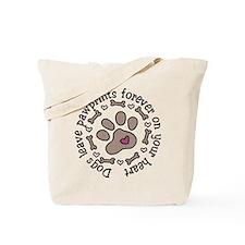 Pawprints Tote Bag