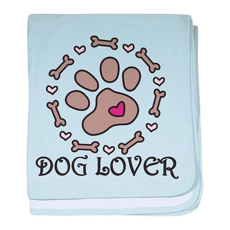 Dog Lover baby blanket