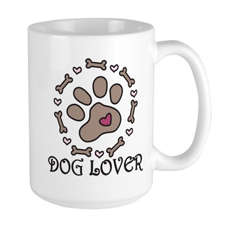 Dog Lover Large Mug
