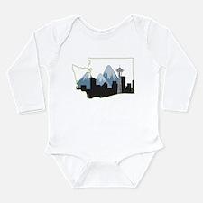 Washington State Long Sleeve Infant Bodysuit