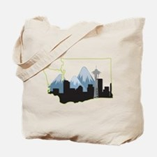 Washington State Tote Bag