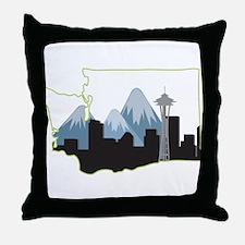 Washington State Throw Pillow
