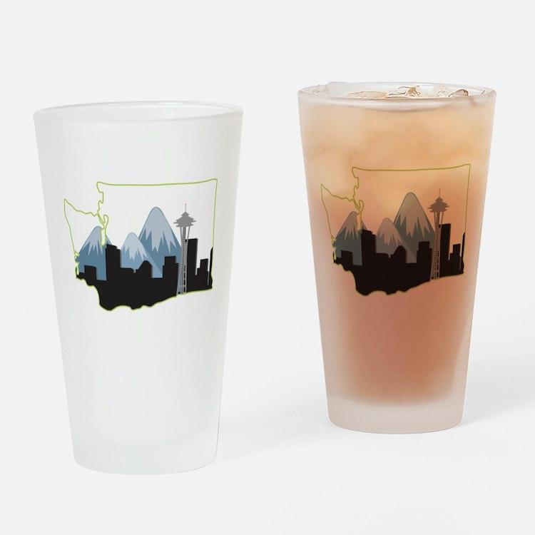 Washington State Drinking Glass