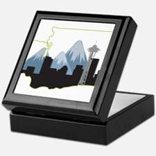 Washington State Keepsake Box
