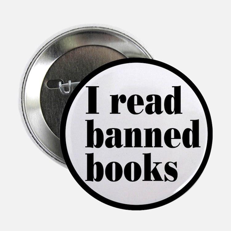 "I Read Banned Books 2.25"" Button"