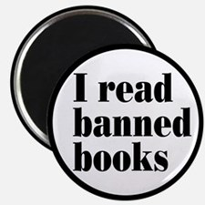 I Read Banned Books Magnet