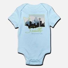 Seatle Washington Infant Bodysuit