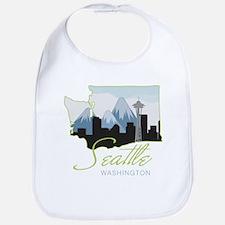 Seatle Washington Bib