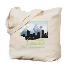 Seatle Washington Tote Bag
