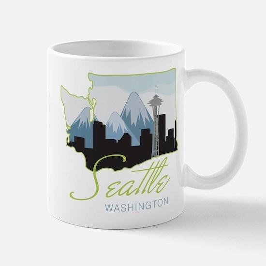 Seatle Washington Mug
