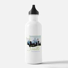 Seatle Washington Water Bottle