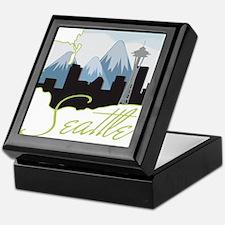 Seatle Washington Keepsake Box